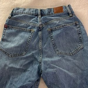 BDG slim straight jeans